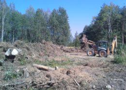 Horní Lukavice - terénní úpravy